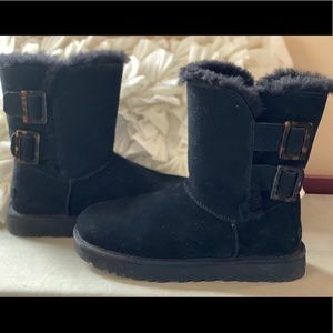 UGG Bailey Fashion Buckle Boot.  Tortoise Buckle